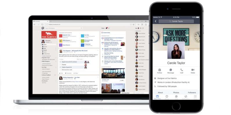 Facebook ra mắt Workplace – Nền tảng hỗ trợ làm việc nhóm cực đỉnh- bạn đã biết dùng chưa?